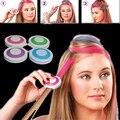 Hot item! 4pcs Fashion Christmas DIY Temporary Wash-Out Dye Hair Chalk Powdery Cake