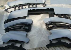 Image 4 - Für BM X5 E70 körper kit, bodykit, skid platte, stoßstange, 2007 2008 2009 2010 , slap up marke neue ABS, ISO9001 qualität, großen rabatt