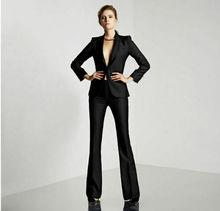 цена Womens Suits Blazer with Pants Women Business Suits Formal Office Suits Work в интернет-магазинах