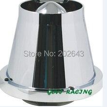 3 ''автомобильный высокий поток Авто конус холодного воздуха впускной фильтр очиститель Универсальный воздушный фильтр Автомобильная труба 3'' мотоцикл турбо сиденье Леон