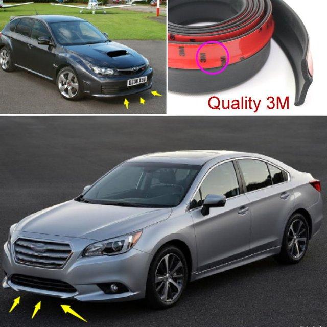 For Subaru Impreza WRX STi XV / Car Bumper Lip / Lower Body Kit / Front