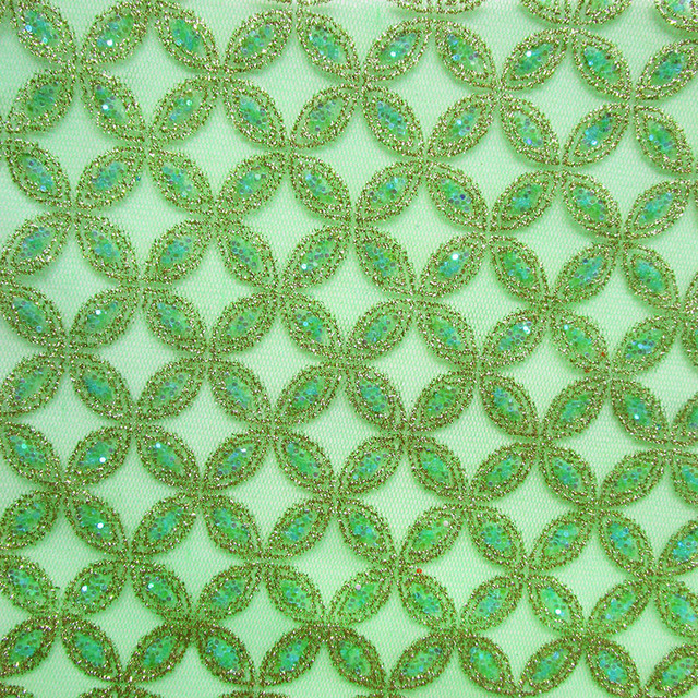 India sari Green Gold Shining Lace Fabric Sexy Sequin Lingerie Accessories  African Party dress Mesh Fabric Sew Net Cloth Tecidos f7997f18c540