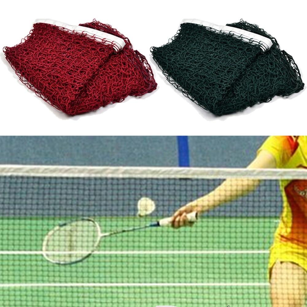 Sport Training Braided Mesh Standard Amateur Badminton Outdoor Sport Training Tool Badminton Net 610*76 Cm