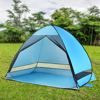 Outdoor Automatic Pop up Beach Tent Cabana Anti UV Fishing Beach Tent Sun Shelter Camping Tent Travel Tents Outdoor Camping