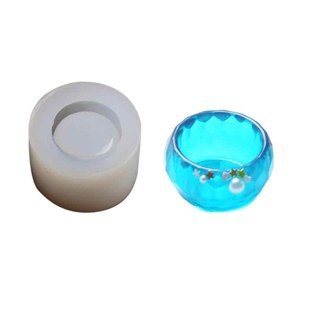 DIY ชามขนาดเล็กคริสตัลอีพ็อกซี่แม่พิมพ์ซิลิโคน Handmade สบู่จานคอนเทนเนอร์แผ่นเรซิน UV แห้งดอกไม้แม่พิมพ์ตกแต่งหัตถกรรม