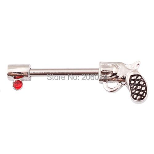 Gun Nipple Ring Nipple...