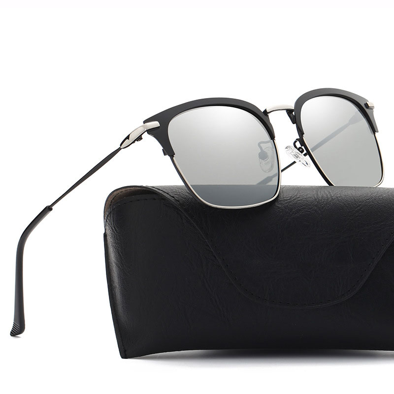 Light Superstar Original Polaroid Sunglasses Women Mirror 2018 UV Protection Sunglass Men Polarized Square Hot Rays Eyewear Male
