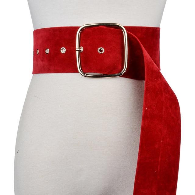 f6a496184d1 CETIRI femmes ceintures robe veste manteau accessoires 2018 velours ultra- Large Longue Personnalité femmes ceinture
