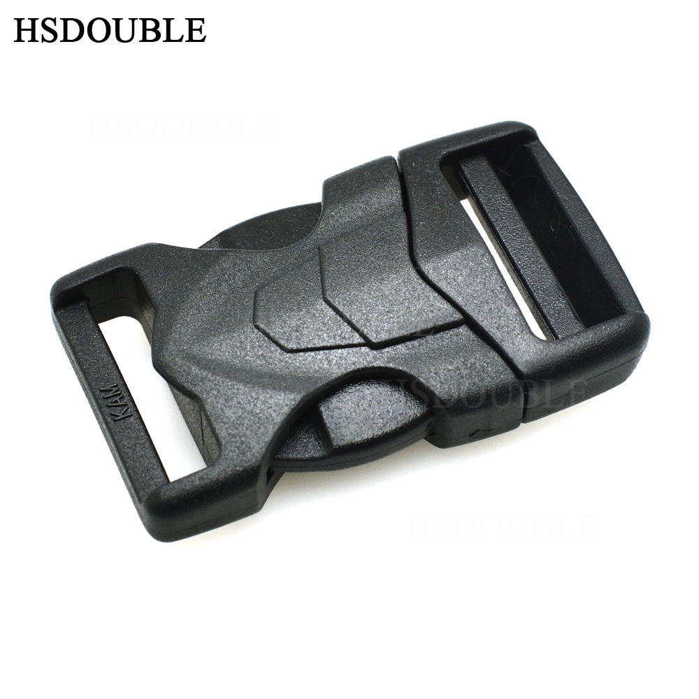 34''(20mm) Cool style Plastic Straight Side Release Buckles For Paracord Survival BraceletsDog Collar