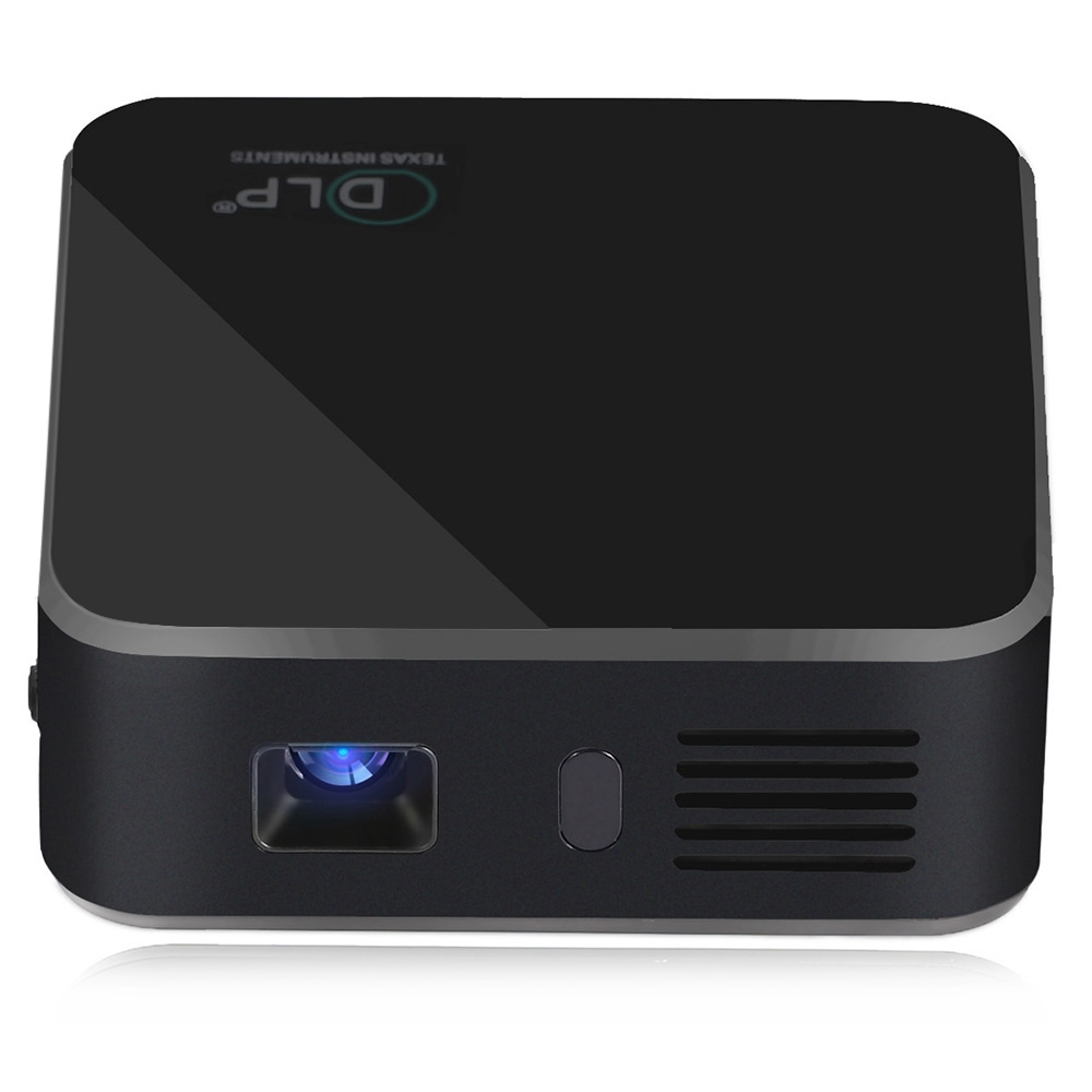 Aun projector am1sp built in 2500mah battery android 4 4 wifi bluetooth mini portable proyector for Small bluetooth projector