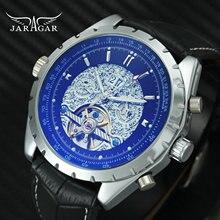 Reloj Tourbillion de lujo para hombre, automático, mecánico, subesferas de trabajo, calendario, reloj de pulsera multifunción, 2019