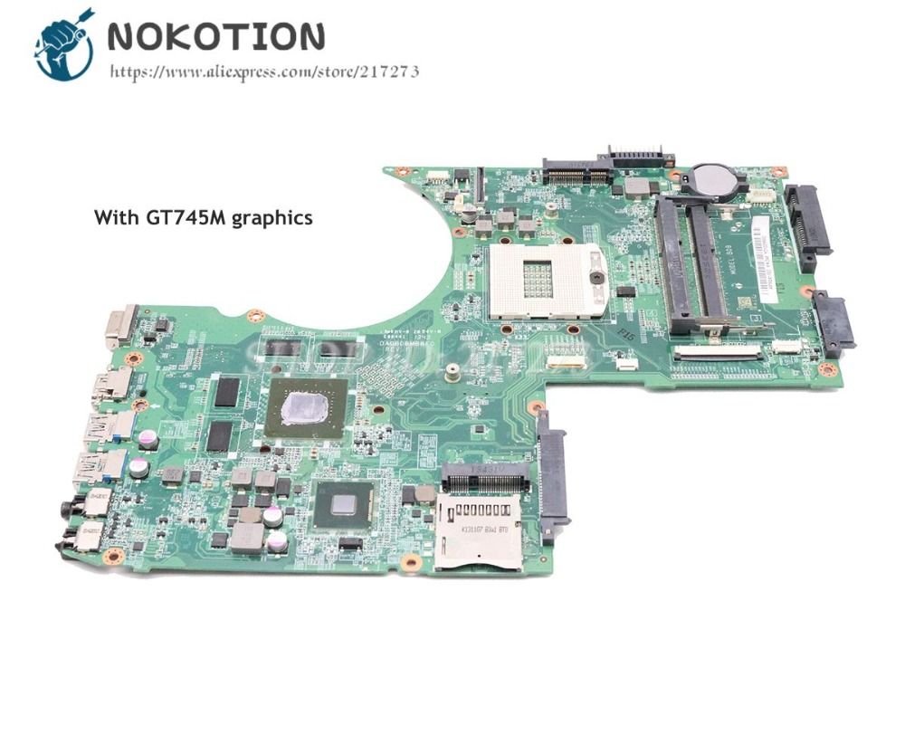 NOKOTION For Toshiba Satellite P70 P75 Laptop Motherboard HM86 DDR3 GT745M gpu A000241600 A000240350 DA0BDBMB8F0 MAIN BOARD