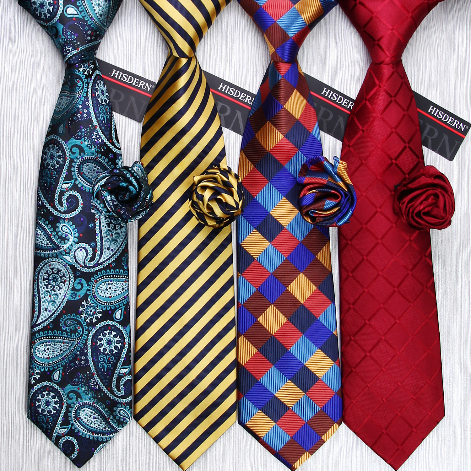 Men Ties Designers Fashion 20 Style Necktie Woven Gravata 3.4