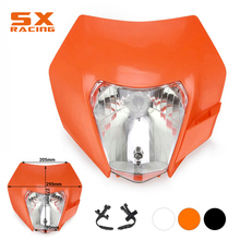 Motorcycle Universal Headlight Headlamp Light For KTM EXC SX XC XCW XCF XCFW SXF SMR EXCF 125 150 250 300 350 450 530 Dirt Bike цены