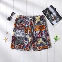 Summer Casual Shorts Men Print Men's Sportswear Short Sweatpants Jogger Breathable Man Short Trousers Fashion 3XL Men's Casual Shorts