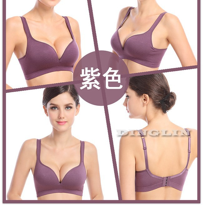 9734b8e1c 5 Colors Sexy Bras For Women Stretch Crop Top Vest Gym Fitness Sport Bra  Comfort Yoga Dance Padded Underwear Free Shipping 5047. US  7.18 piece