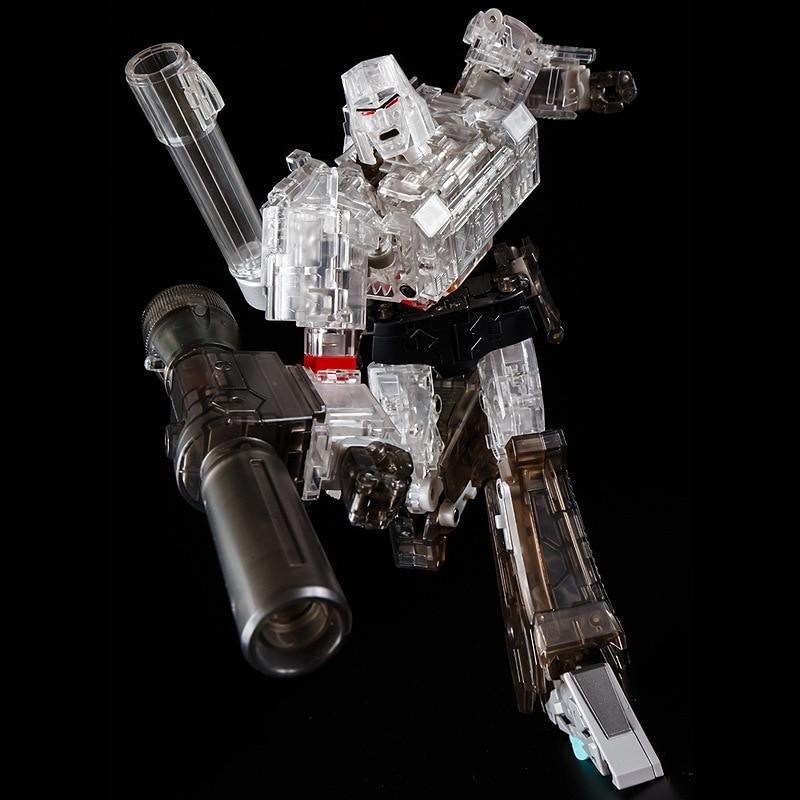 все цены на Transformation G1 THF 24CM Transparent Emperor of Destruction THF03 Thf-03 MP36 MP-36 Alloy MasterPiece Oversize Figure Toys онлайн