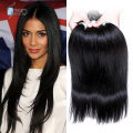 Caliente pelo virginal peruana recta Wholesale 10 paquetes de calidad superior 7A paquetes peruanas del pelo humano Natural Color de los Aliexpress