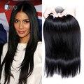 Hot peruano virgem cabelo liso 10 pacotes de alta qualidade 7A peruano feixes de cabelo humano cor Natural Aliexpress cabelo