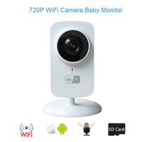 BabyKam Wireless Baby Monitor 720P Baby Camera Baba Eletronica support Night Vision Intercom for iPhone Android Phone