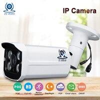 ZSVEDIO Surveillance Cameras POE Security Camera Alarm System CCTV Cameras Security Camera System 1080p Waterproof HD