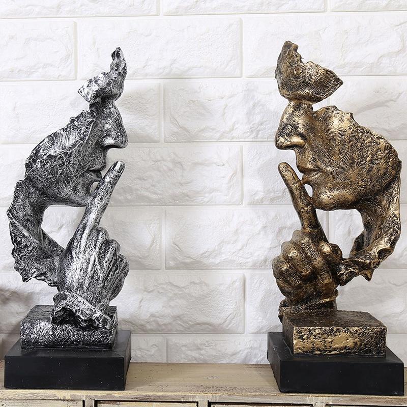 BUF Dekoration minimalistische Statue Mode Abstrakte Ruhige - Wohnkultur - Foto 4
