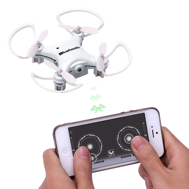 K700(B) RC Mini Drone Phone Control Bluetooth Signal RC Quadcopter Remote Control Helicopter Aircraft Drones Nano Drone