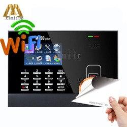 ZK M300Plus RFID карты посещаемость времени с WIFI биометрическая запись времени сотрудник Посещаемость Время часы с бесплатным программным обеспе...