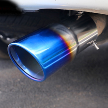 1pc for PATROL Y62 2016-2018 Exhaust pipe Tail throat Stainless steel decorate with letter