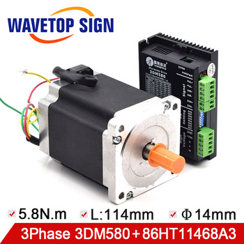Leadshine Drive 3Phase 3DM580 and Stepper Motor 86HT11468A3