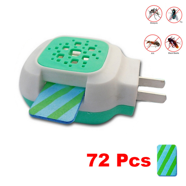 72pcs Electric Mosquito killer Mats And Mosquito Repellent Incense Heater Anti Mosquito Killer Insect Killing Repeller Summer