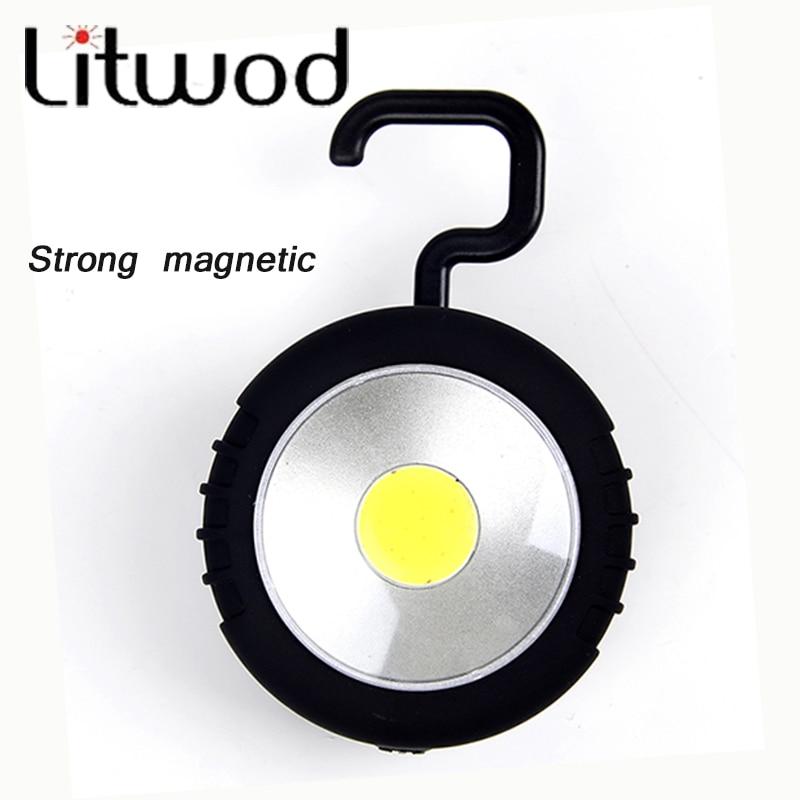 Litwod 145 Лидер продаж удара светодиодный фонарик Магнитная рабочих складной крюк свет лампы tor Лидер продаж ККЗ <font><b>linternas</b></font> Применение 3 батарейки АА
