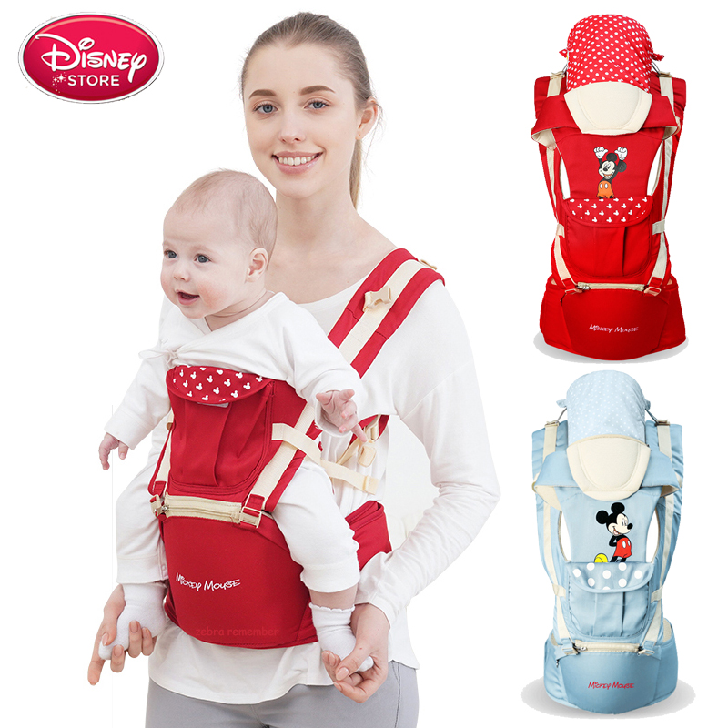 Disney Baby Backpack Multifunctional Front Facing Baby Carrier Infant Sling Backpack Pouch Wrap Carriers For Kids