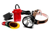 Ultra Bright Cree T6 LED Coon Hunting Cap Light For Mining Camping Fishing Light With Color Lens Free Shipping By DHL