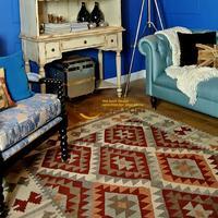 Натуральных волос ami хаки Американский Повседневное стиль kilim rug gc137 51yg4