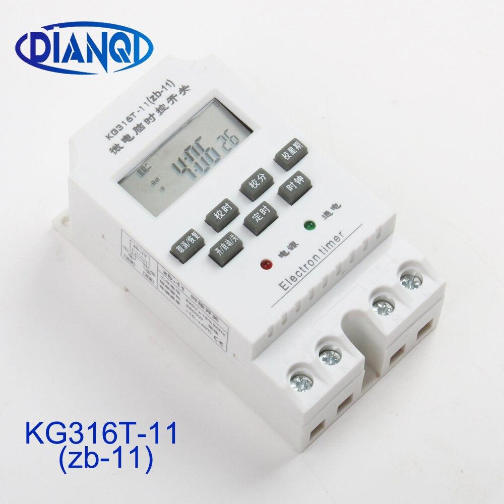 100% QualitäT Timer Kg316t-11 Intelligente Mikrocomputer Programmierbare Elektronische Timing Schalter Relais Controller Gut FüR Antipyretika Und Hals-Schnuller