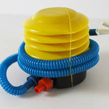 1PCS Mini Ballon Pump Essential Inflatable Float Toy Air Manual Foot Pump Used For Inflatable Products(China)