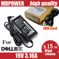 MDPOWER For  Dell DELL Laptop Power Adapter Charger 19V 3.16A AC adapter cord