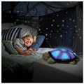 2018 Turtle Stars Sky Musical LED Light Up Novelty Toys Projector Toys Glow In The Dark Toys For Baby Kid Children Sleeping Gift