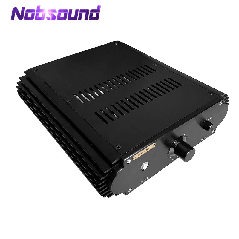 Nobsound Hi-Fi Power Amplifier | MOSFET | Single-Ended Class A | 25W*2 | PassAm PassA30 Circuit l passam gold field effect transistor audio power amp single ended class a 2 25w hifi amplifier