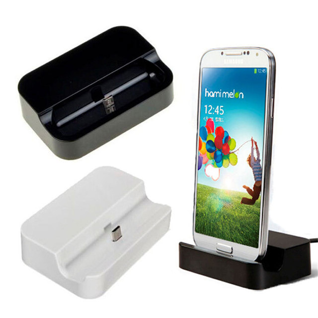 Micro USB Data Sync Desktop Charging Cradle Charger Dock Stand Station For  Samsung Galaxy S3 S4