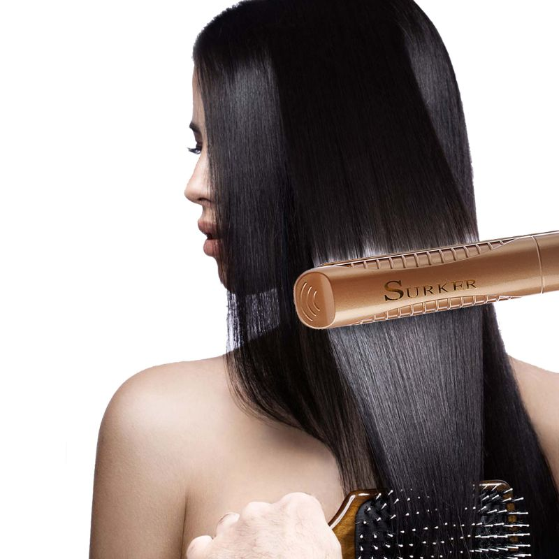 Flat Iron Professional Ceramic Tourmaline Plate Hair Straightener Styling Tool in Styling Accessories from Beauty Health