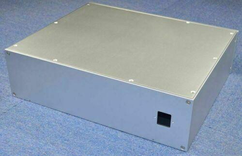 WA139 Full aluminum chassis Power amp box DIY amplifier case 430*120*358MMWA139 Full aluminum chassis Power amp box DIY amplifier case 430*120*358MM
