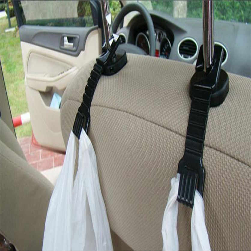2019 New Hot 2PCS Plastic Auto Car Truck Suv Shopping Bag Holder Seat Hook Hanger Free Shipping&Wholesale