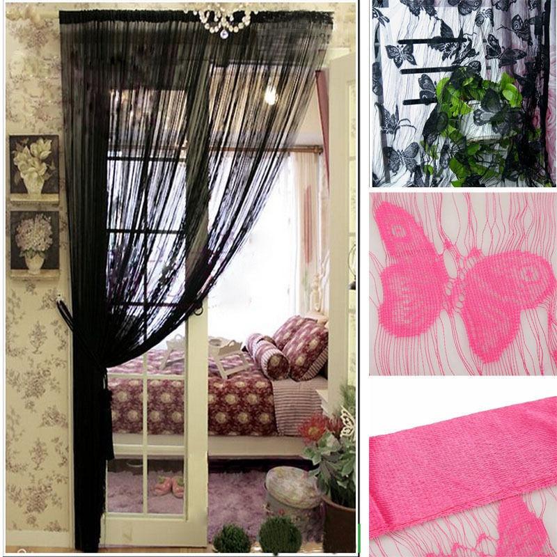 21m String Curtain Tassel Window Door Decor Panel Divider Yarn String Curtain Living Room Bedroom Kitchen (7)