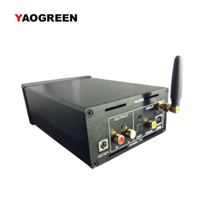 PCM1794A DAC Decoder USB Bluetooth Aptx Optical Coaxial/SPDIF Input AES XMOS AK4118 Bluetooth CSR64215 Audio Receiver