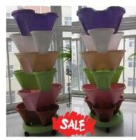 2015 New Garden Supplies Garden Pots Flower pots Planters Plastic Pots for Plants Flowerpot Vase
