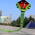 Pintura de la Diversión Al Aire Libre Deportes 120 CM Cobra serpiente Cometa Cometas Kite Flying Superior Grande Niño Juguetes Regalos