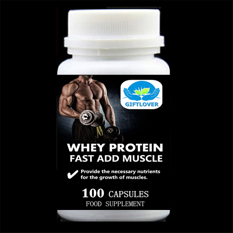 Fast Add Muscle;Whey Protein;5,000mg Provide the necessary nutrients for the growth of muscles;Gain Weight - 100pieces/bottle ...