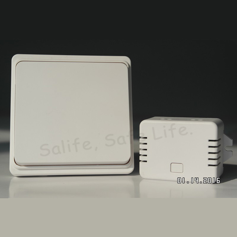 2017 No Battery Need Kinetic Remote Control Wireless Wall Switch No Wire Switch Home Bedroom Ceiling